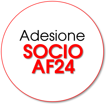 ISCRIZIONE ON-LINE SOCIO AF24